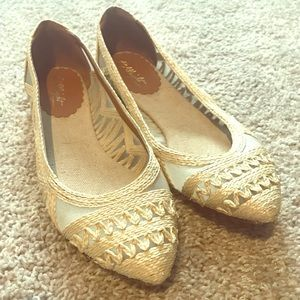 <<>> Anthropologie: Miss Albright Flats <<>>